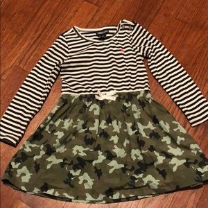 Limited Too Toddler Camo Dress
